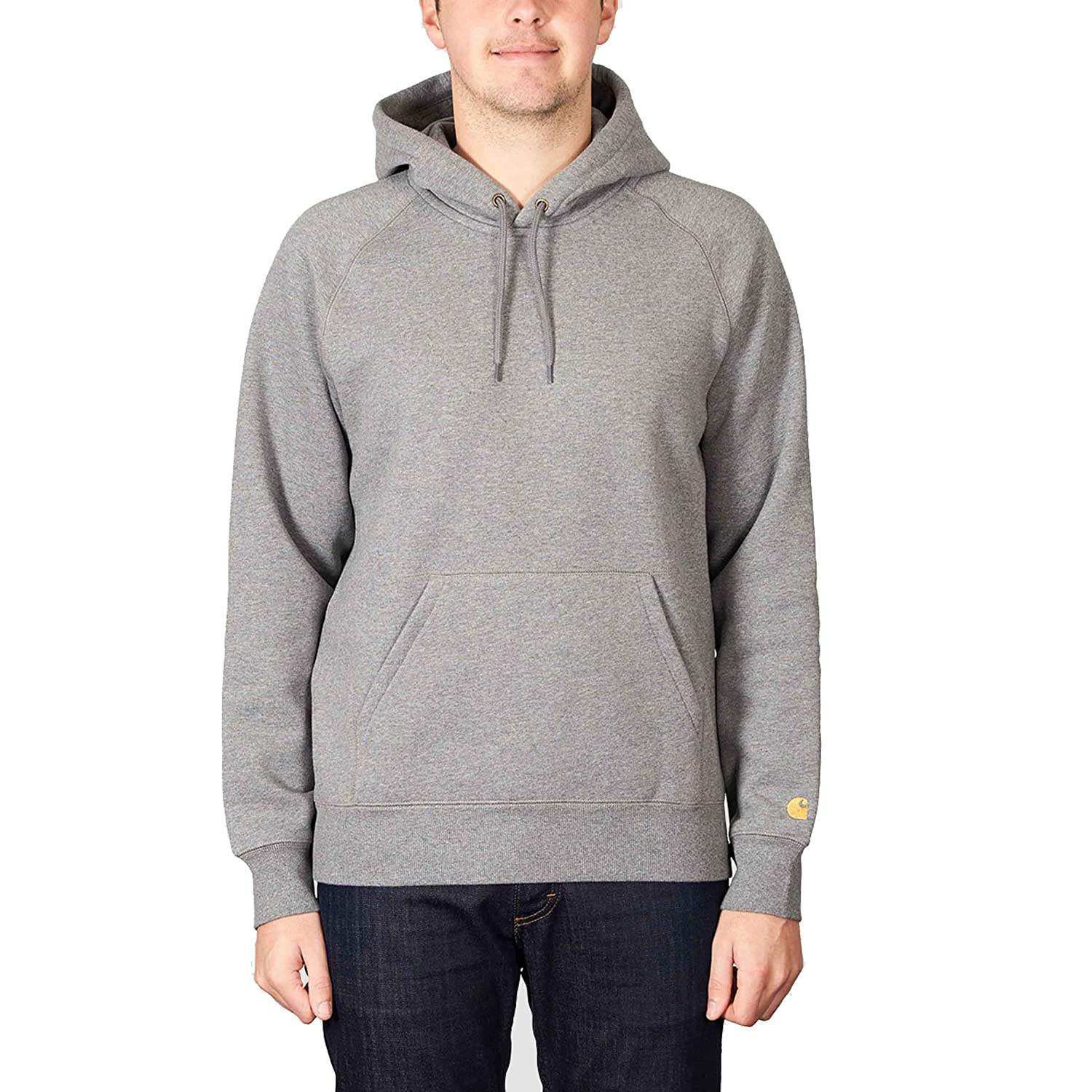 Carhartt Chase Pullover Hood Ash Heather Gold