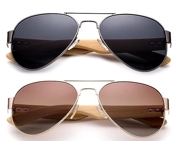 Amazon.com: Alta calidad polarizadas anteojos de sol con ...