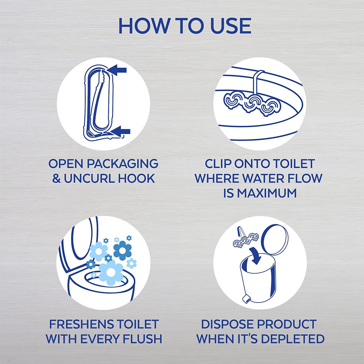 Amazon.com: Lysol Power & Fresh 6 Automatic Toilet Bowl Cleaner, Forest Rain, 1 ct: Health & Personal Care