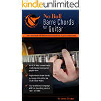 'No Bull' Barre Chords for Guitar: Learn and Master the Essential Barre Chords that all Guitar Players Need ('No Bull… book cover
