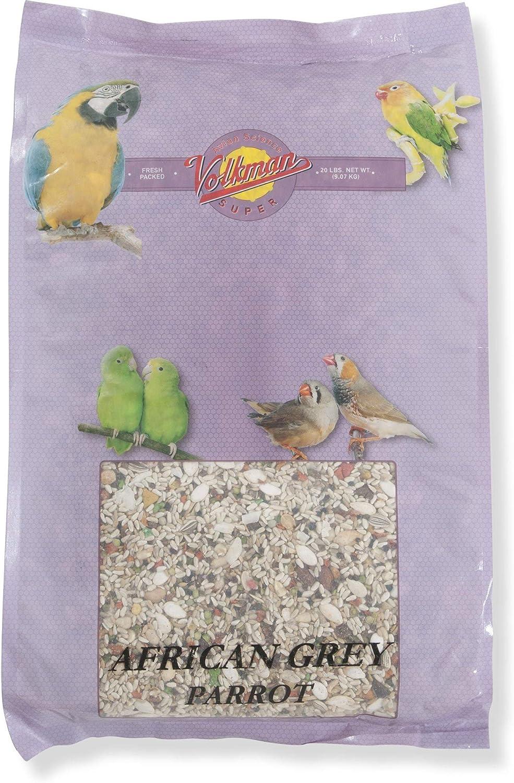 Volkman Avian Science Super African Grey Parrot 20 Lb Bag