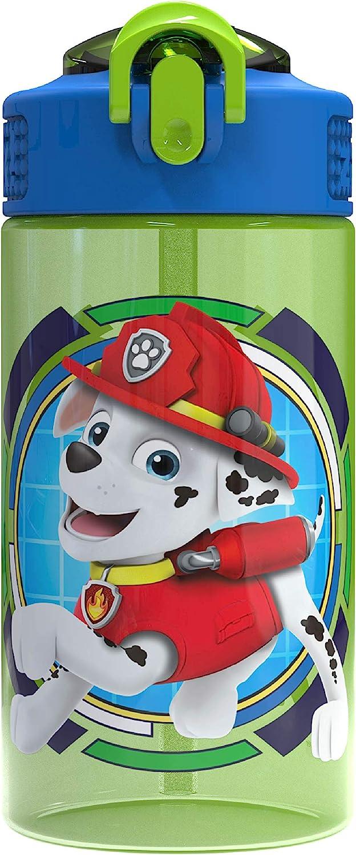Paw Patrol 16.5 Oz BPA Free Water Bottle Bundle Of 2! Zak