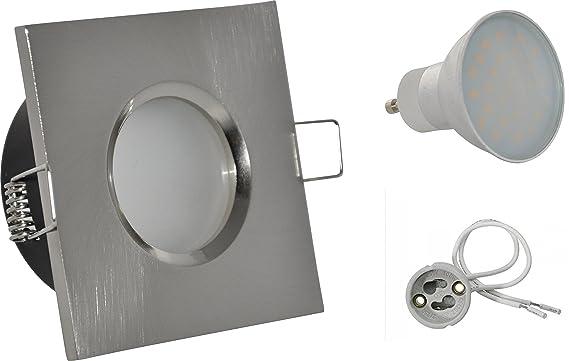 Salle De Bain Spot Ip65 Couleur Blanc 230 V Gu10 Led 5 W Blanc