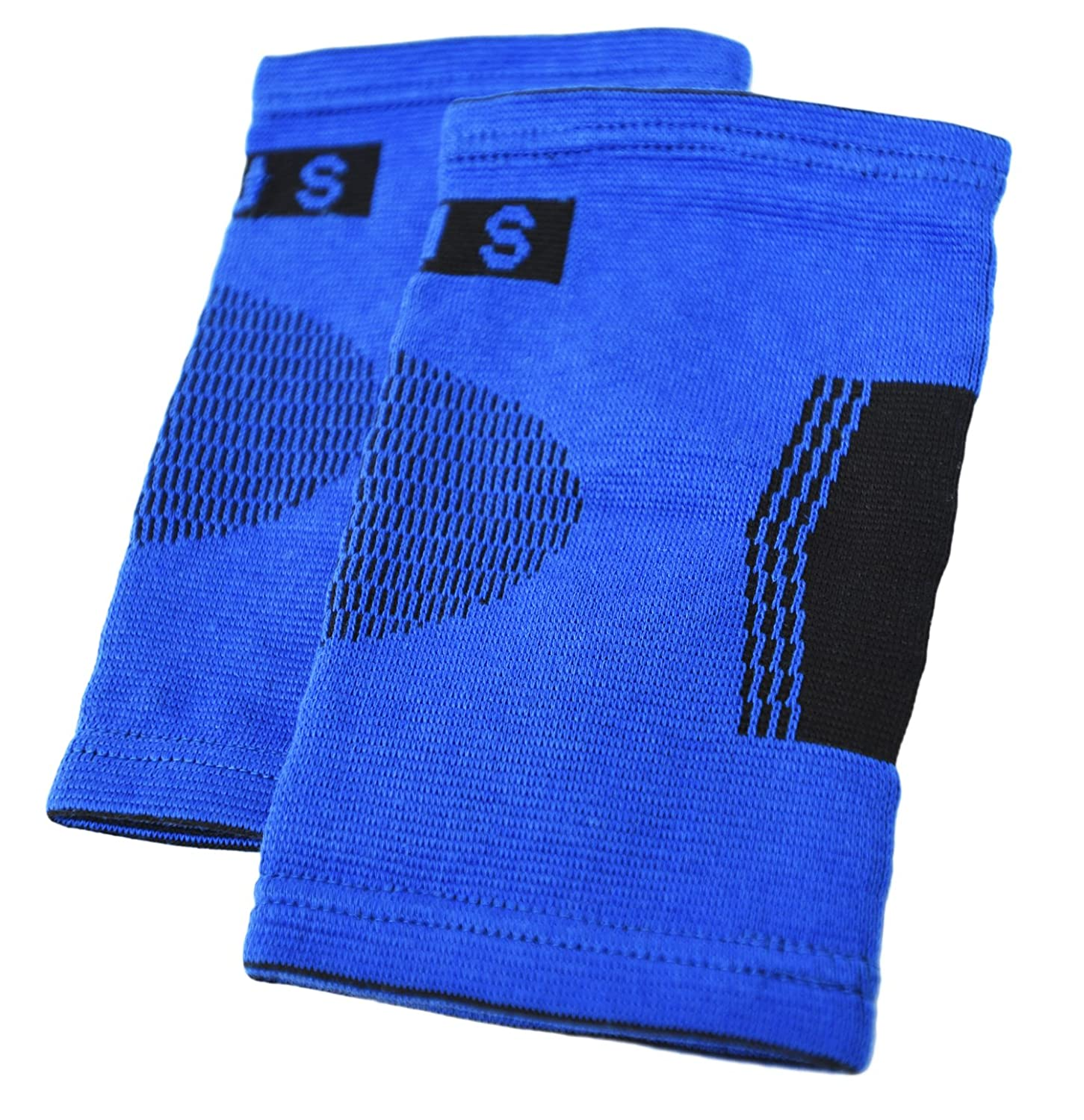 2 Professional Elbow Support Sleeves By Susama - Large/X-large Size - #1 Compression Wraps, Tendonitis...