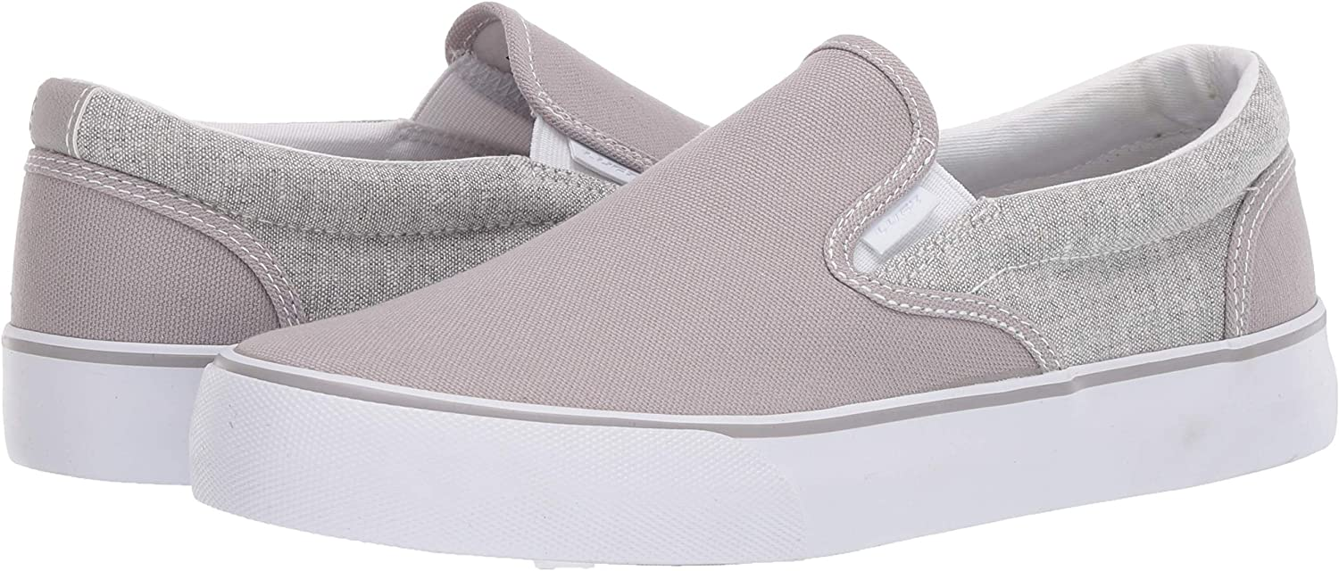 Lugz Men's Clipper 2 Classic Canvas Slip-on Fashion Sneaker: Shoes
