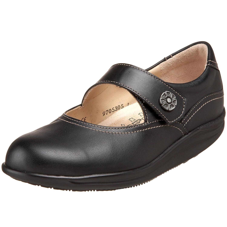 Finn Comfort Womens Salo 2932 Leather Shoes  39 EU|Schwarz