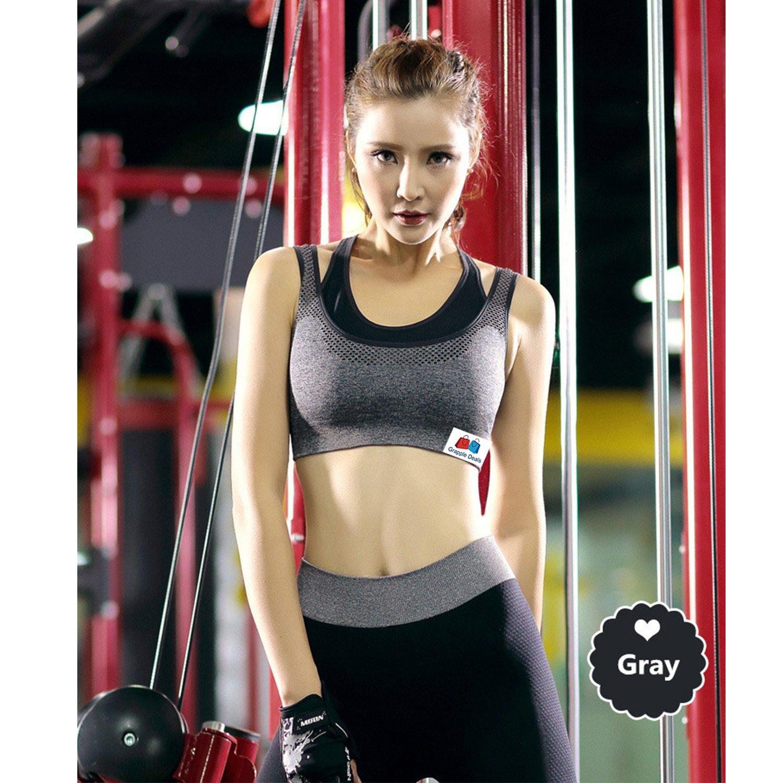 7741caae83884 GRAPPLE DEALS Women s Comfort Revolution Workout Fitness Sports Bras ...