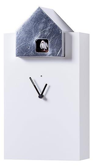 Diamantini & Domeniconi 20 x 38 x 13 cm en bois/feuille d\'or Horloge ...