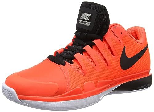 c36a03b0fb54 Nike Zoom Vapor 9.5 Tour Clay - Men s Tennis Shoes - 631457 800 - New 2016  (US 9 - CM 27) Orange Black  Amazon.ca  Shoes   Handbags