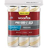 The Wooster Brush Company RR663-9 Pro Doo Z FTP Roller Cover 3/8-Inch Nap, 3-Pack