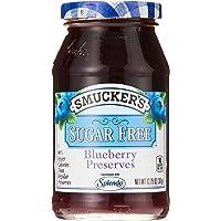Smucker's Sugar Free Blueberry Jam, Blueberry, 361 g