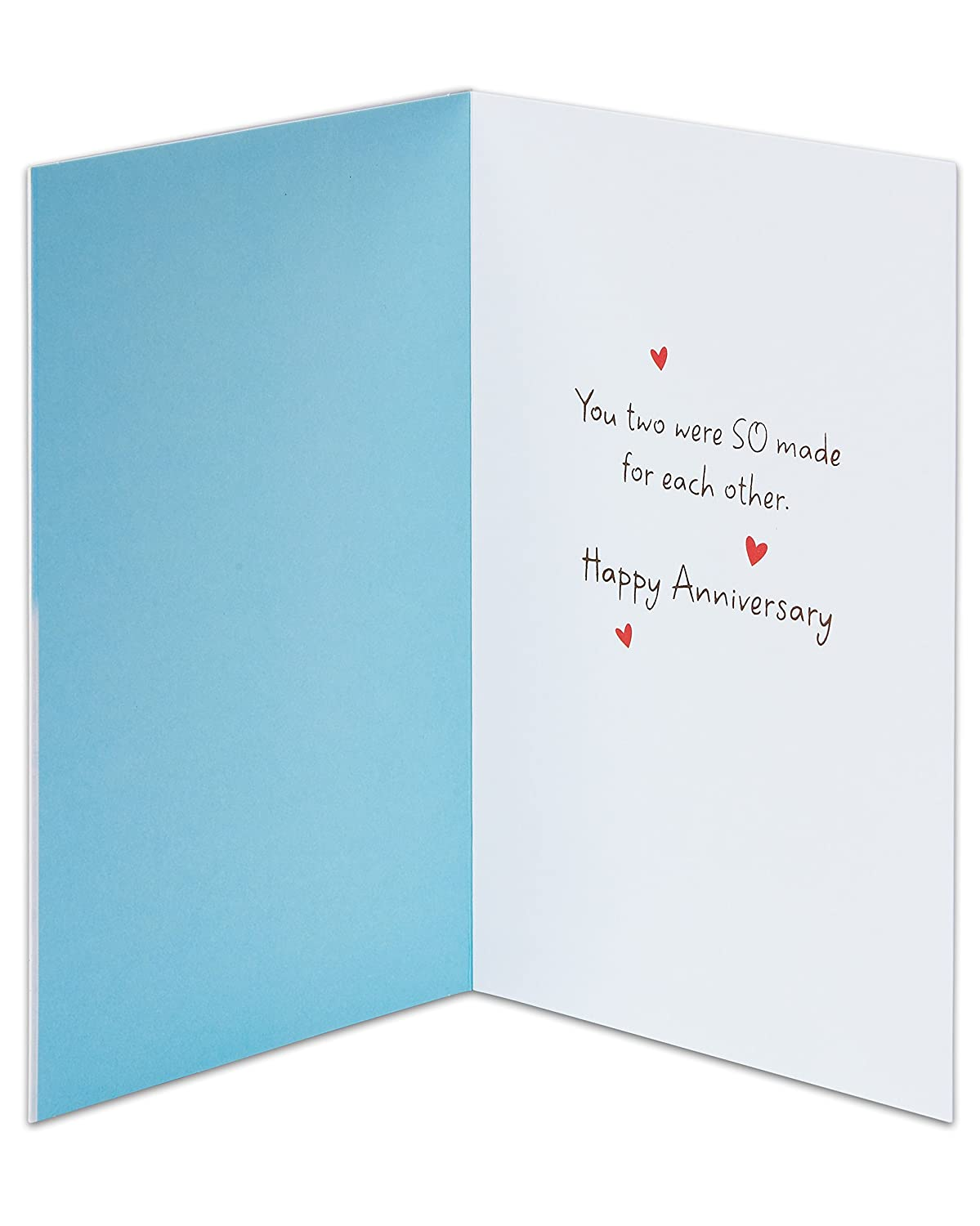 Amazon American Greetings Penguins Anniversary Card For Couple
