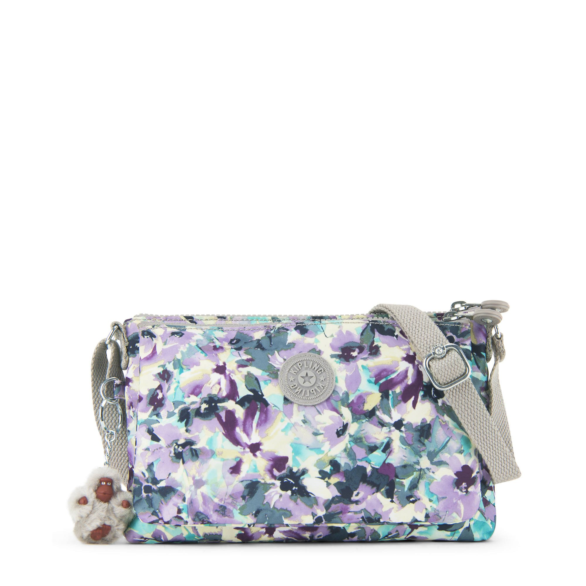 Kipling Women's Mikaela Printed Crossbody Bag One Size Spanish Bloom by Kipling