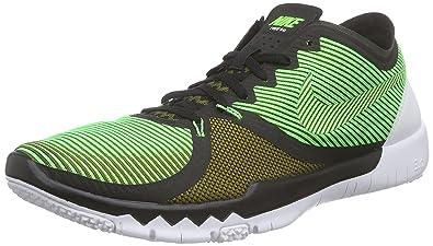 online store 129c1 cd6f1 Nike Free Trainer 3.0 V4, Chaussures d Athlétisme Homme, Vert-Grün (