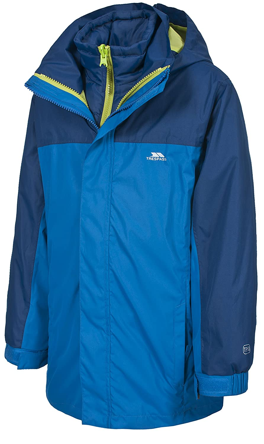 Trespass Maddox Kinder 3 in 1 Jacke, Wasserfest