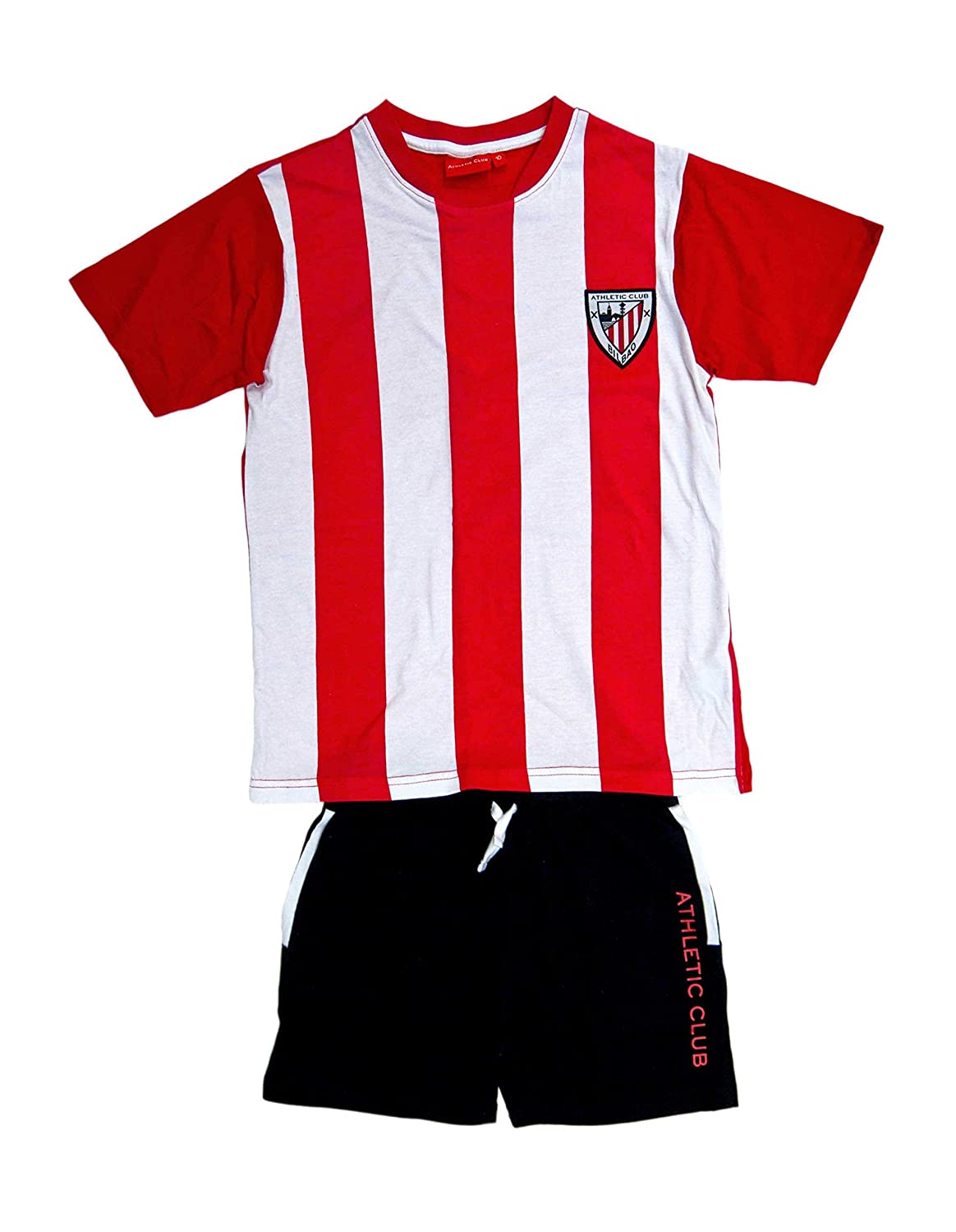 FUTBOL Pijama niño Athletic Club Bilbao - 12: Amazon.es: Deportes ...
