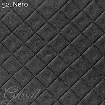 Genial Tissu Simili Cuir Matelassé Au Mètre Simili Cuir Revêtement Tapisserie  Canapé Lit Giosal Al Metro Noir