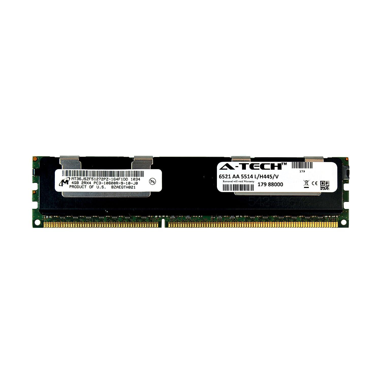 A-Tech Micron 4GB Module PC3-10600 1 5V for Dell PowerEdge M710hd M820 M915  A3721494 R410 R420 R515 A3721500 R520 R610 R620 A3721505 R715 R720 R720xd