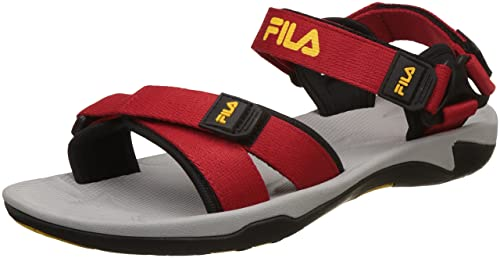 944cf8ef7fd2 Fila Men s Leda Rd Blk Floaters-11 UK India (45 EU)(11004746)  Buy ...
