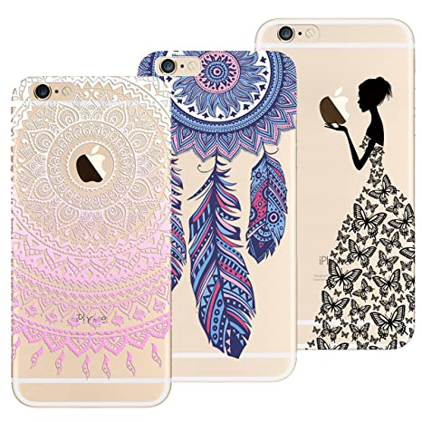 coque silicone iphone 6 fille
