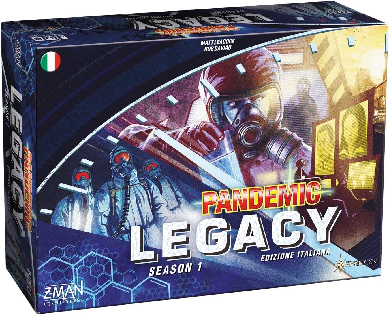 Asmodee Italia 8385 Pandemic Legacy – Edición Italiana, Azul: Amazon.es: Juguetes y juegos