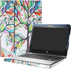 "Alapmk Protective Case for 11.6"" HP Chromebook 11 G5/HP Chromebook 11 11-vXXX & Lenovo IdeaPad 3 CB 11IGL05/Lenovo Chromebook 3 11 Laptop(Not fit HP Chromebook 11 G7 EE/G6 EE/G5 EE/G4),Love Tree"
