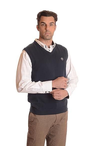 Ardorr Men's 100% Cotton V Neck Sweater Vest at Amazon Men's ...