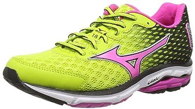 Mizuno Wave Rider 18 (W) - Zapatillas running para mujer: Amazon.es: Zapatos y complementos