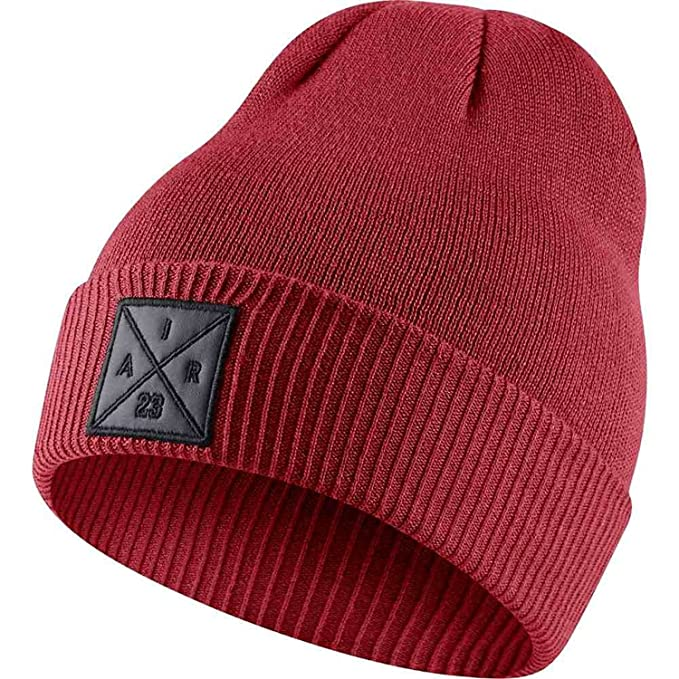 a95ea8f968839 Nike mens JORDAN P51 BEANIE EMBROIDERY 861451-687 - GYM RED at ...