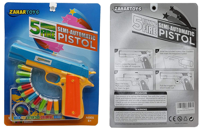 Outdoor Fun & Sports 10pcs Mini Soft Bullet Toy Luminous Bullets For Pistol Gun Toys Always Buy Good Toy Guns