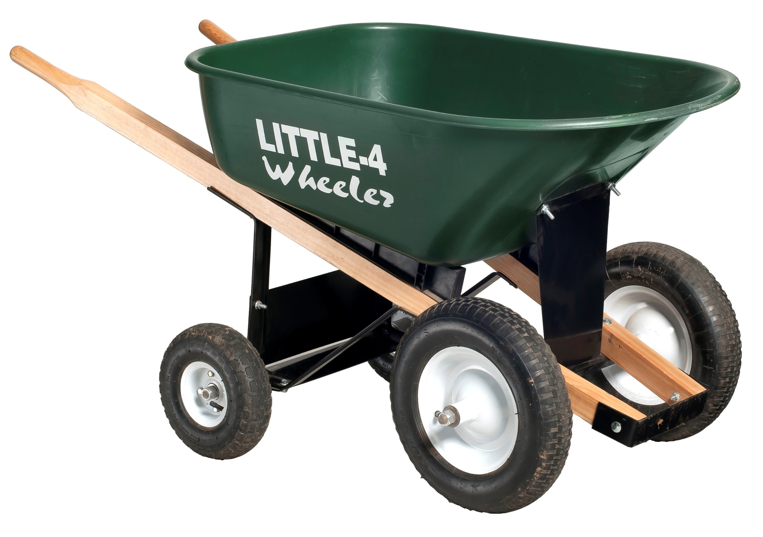 Big 4 Wheeler Heavy-Duty Wheelbarrow, 6 Cubic Feet by Big 4 Wheeler