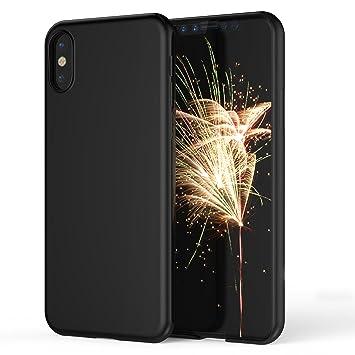 Funda iPhone X, Carcasa iPhone X SPARIN Material PC Deslustrado Ultra delgada, Anti-arañazos, Absorción de impacto para iPhone X