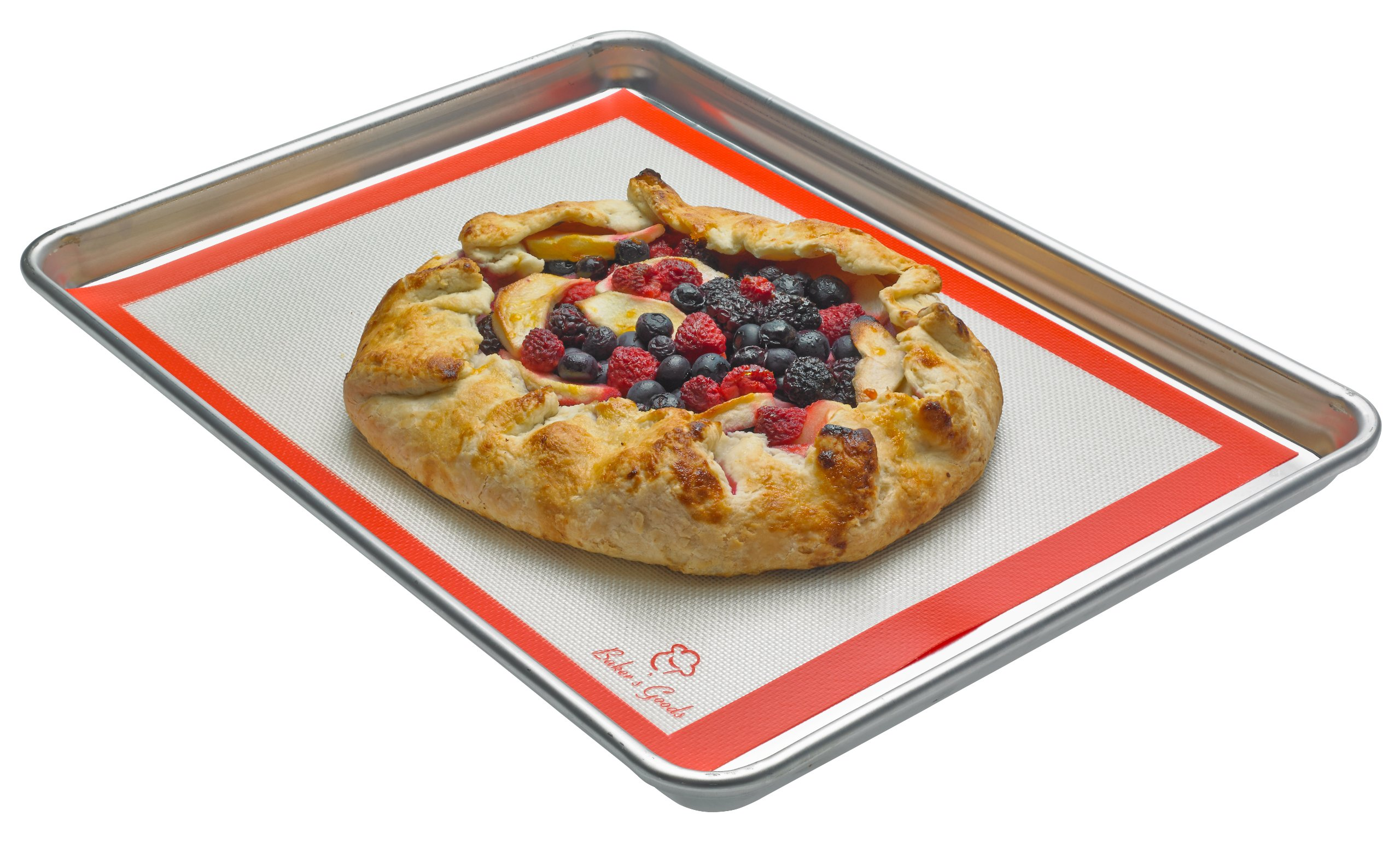 Baker's Goods Non-stick Professional Silicone Baking Mat, 8.5 x 11.5-inches
