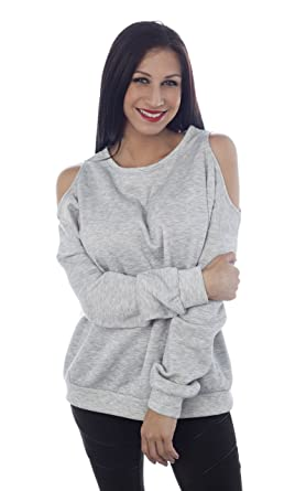 4e9bbce2521 Cold Shoulder French Terry Sweatshirt