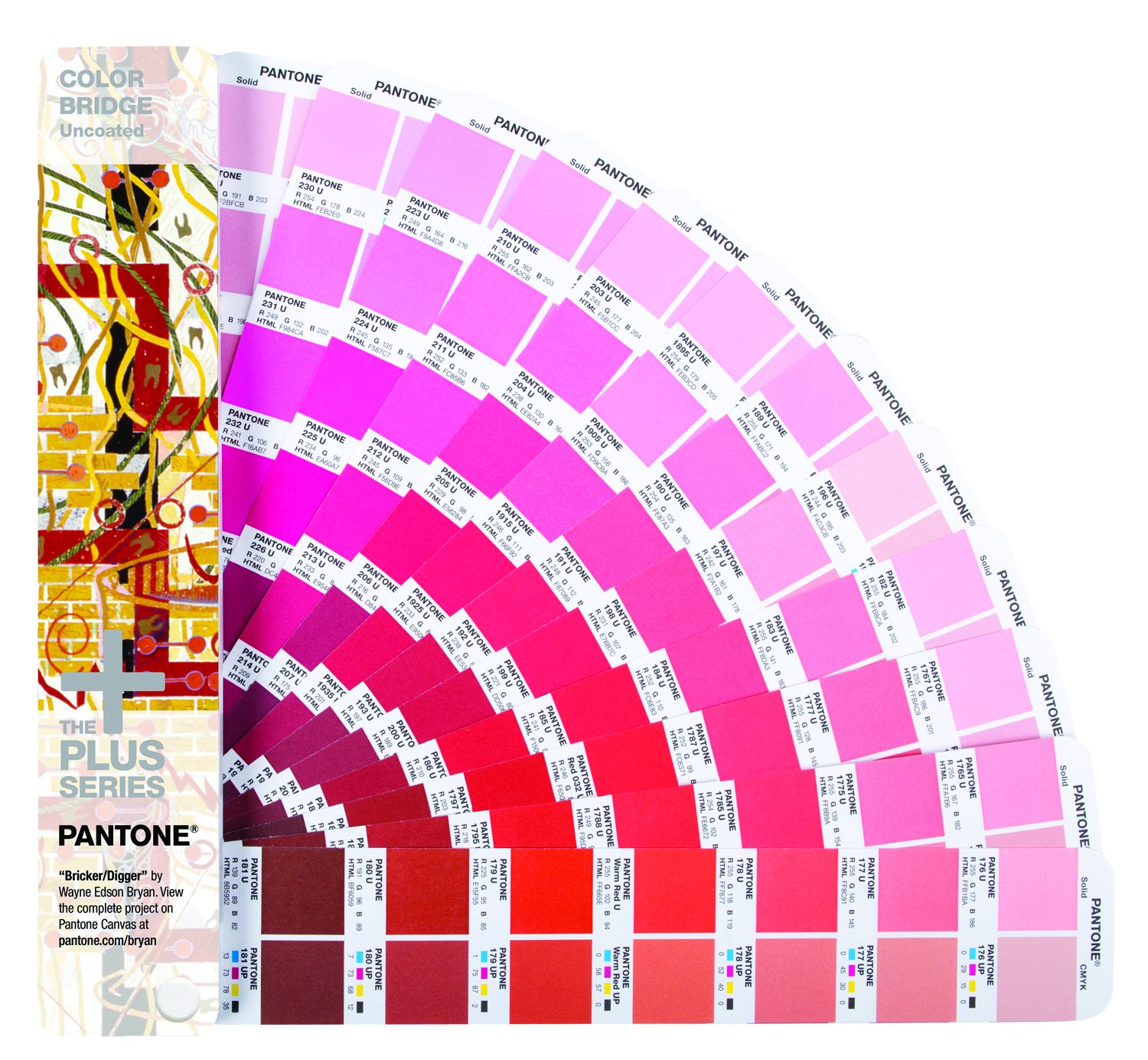 Pantone Colorbridge Guide uncoated, GG6104