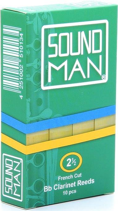 Boehm Clarinet Reeds Soundman/® Cane Student 10 pcs Reed Clarinets B/öhm System 1.5