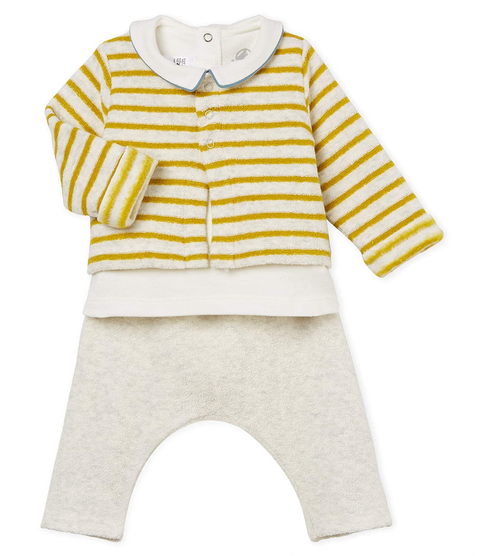 Petit Bateau Baby-Jungen Lot Balilo Bekleidungsset