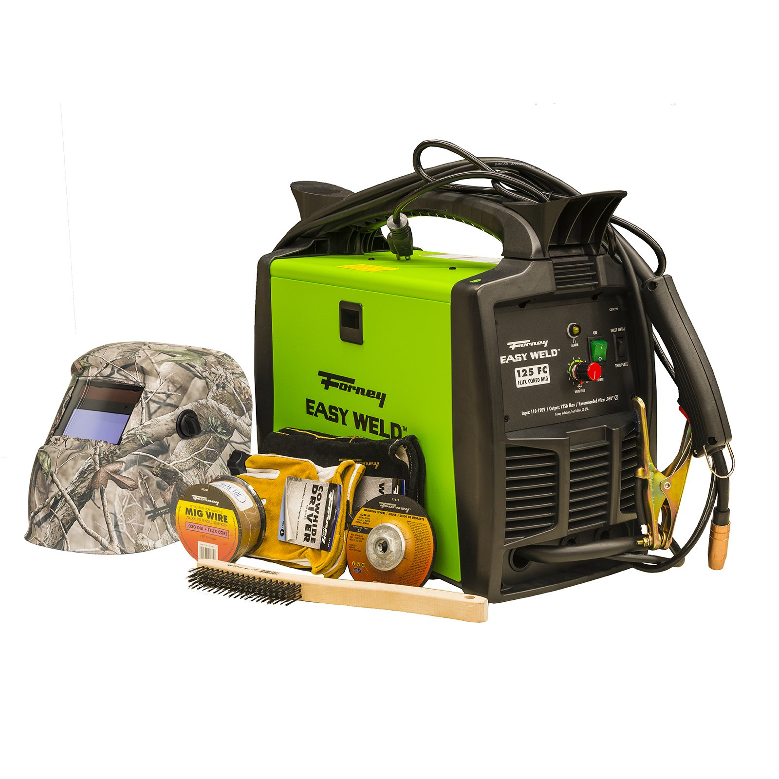 Forney Easy Weld 29901 125 FC MIG Welder Start-Up Kit by Forney