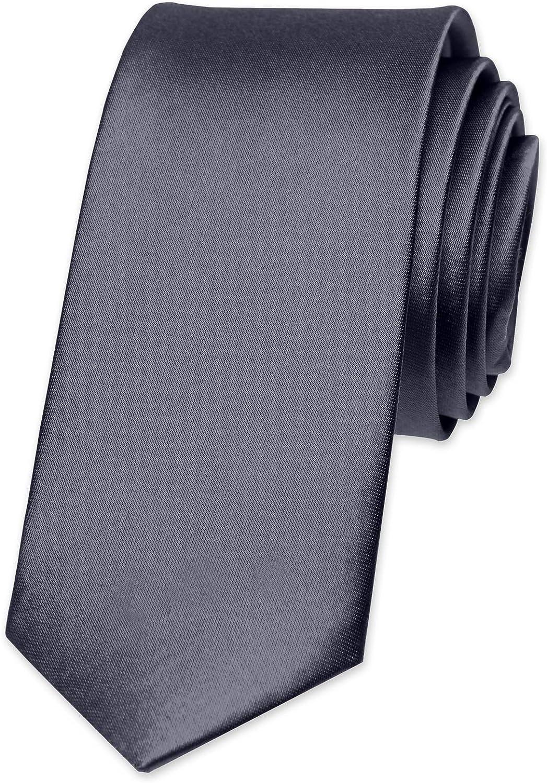 Autiga - Corbata para hombre, para boda, confirmación, trabajo ...