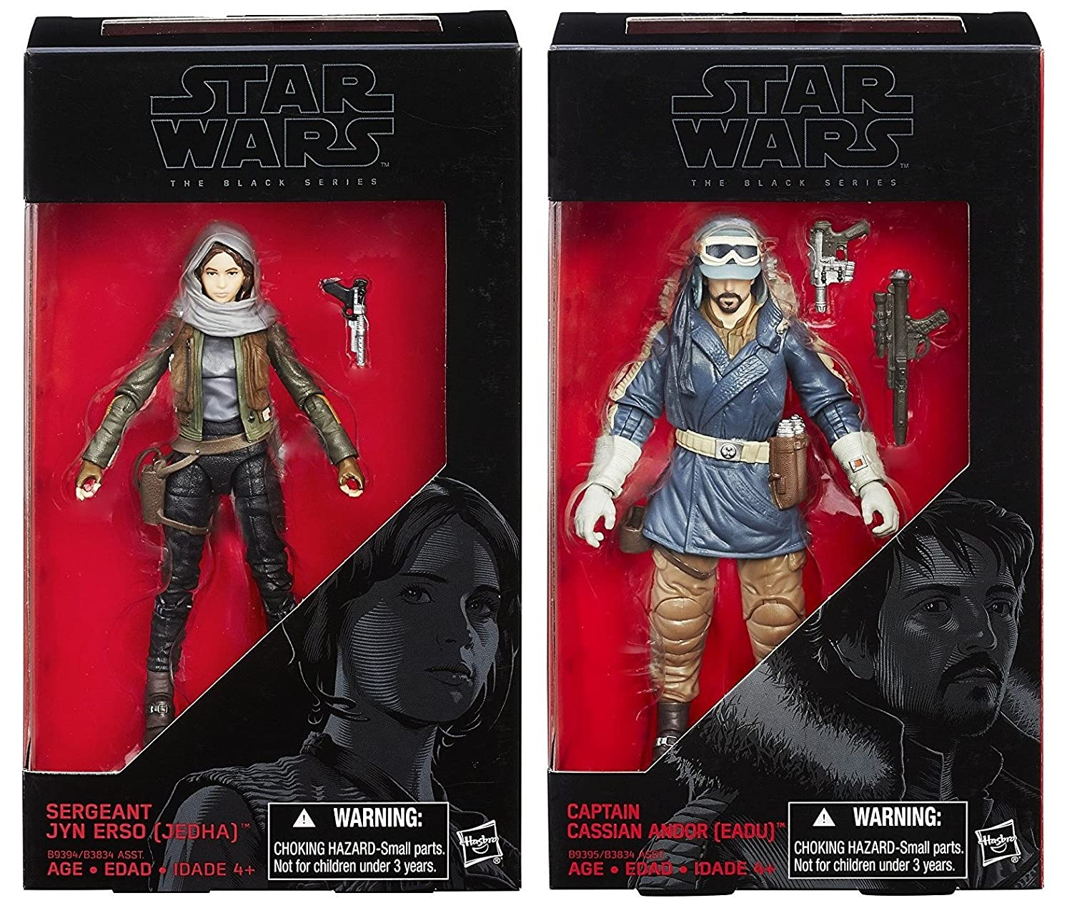 Black Series 6-Inch Jyn Erso Action Figure Star Wars Rogue One