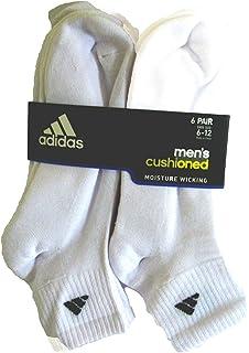 outlet store 8bb09 d4ae8 adidas Mens Originals Cushioned 6-Pack Quarter Socks