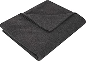 Travelon Packable Travel Blanket, Heather Gray, One Size