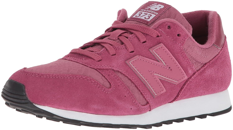 New Balance Women's 373v1 Sneaker B06XS9NB9F 85 B US|Pink/White