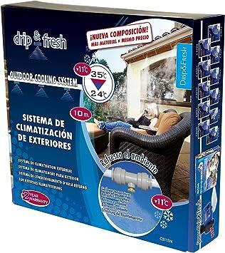 Drip & Fresh C5115N - Kit de Nebulización para Climatizar tu Patio ...