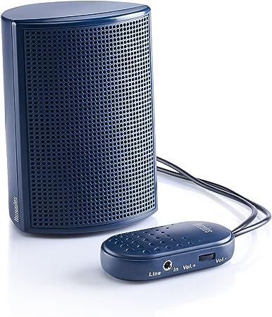 6/W RMS e subwoofer da 5/W RMS colore: nero adattatore di alimentazione CA 3/W x 2 GOgroove SonaVERSE LBr con USB per la ricarica di dispositivi mobili Altoparlanti