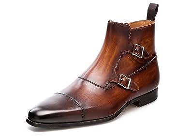 fa2c19b8ab9 Amazon.com: Magnanni Zamora Cognac Men's Boots: Shoes