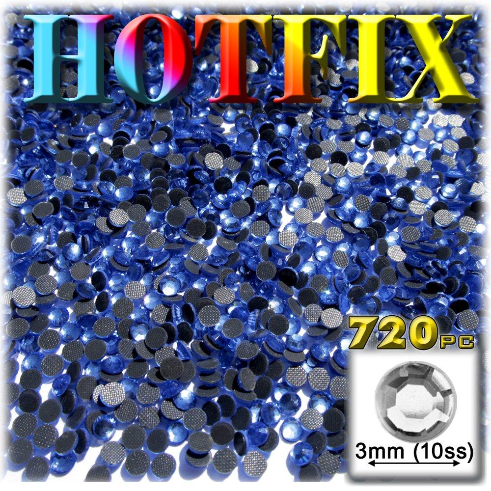 工芸のアウトレットDMC Hotfix優れた品質ガラス720-pieceラウンドラインストーン装飾、3 mm、ロイヤルブルー   B0088EHWLU
