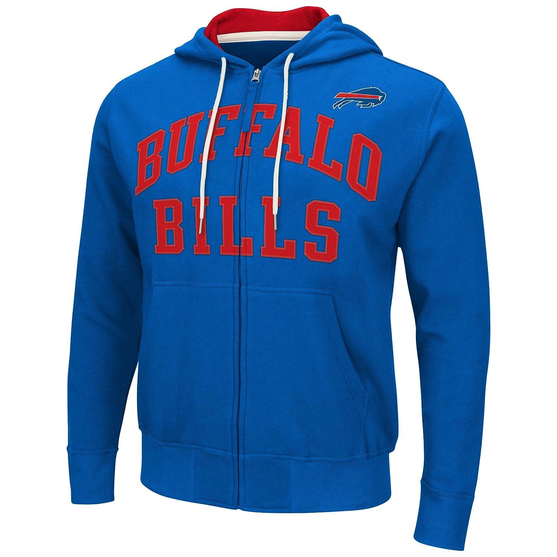 Buffalo Billsメンズ長袖Pass Attemptパーカー/フード付きスウェットシャツ B01I42IUL6 Medium