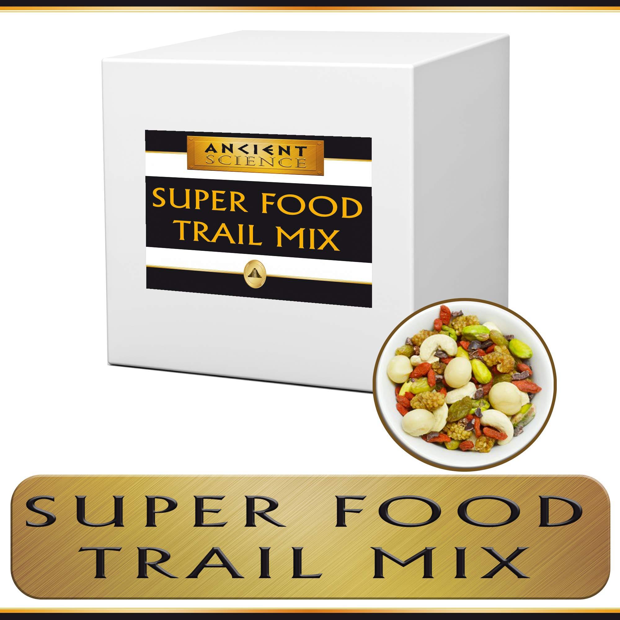 Organic Super Food Trail Mix Bulk 5 LBS - Gojiberries, Macadamia Nuts, Cashews, Cacao Nibs