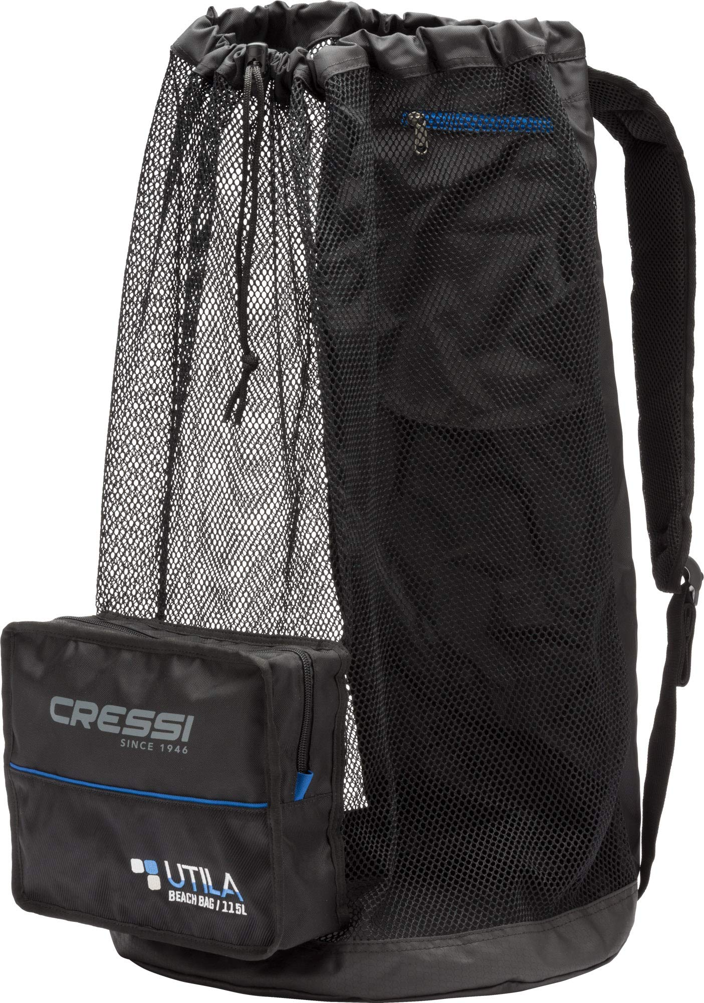 Cressi Heavy Duty Mesh Backpack 85 liters Capacity for Snorkeling, Water Sport Gear | Utila: Designed in Italy by Cressi